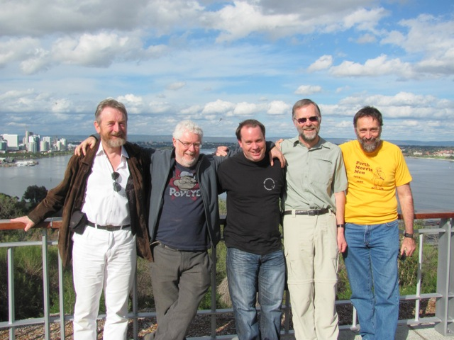 Kings Park: Bill, Geoff, Mike, Ian, Steve